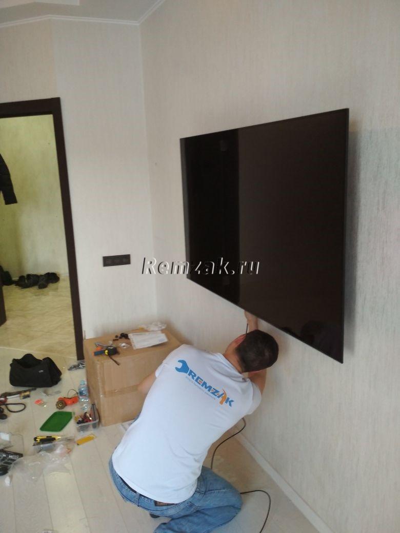 установка телевизора sony kd65a1